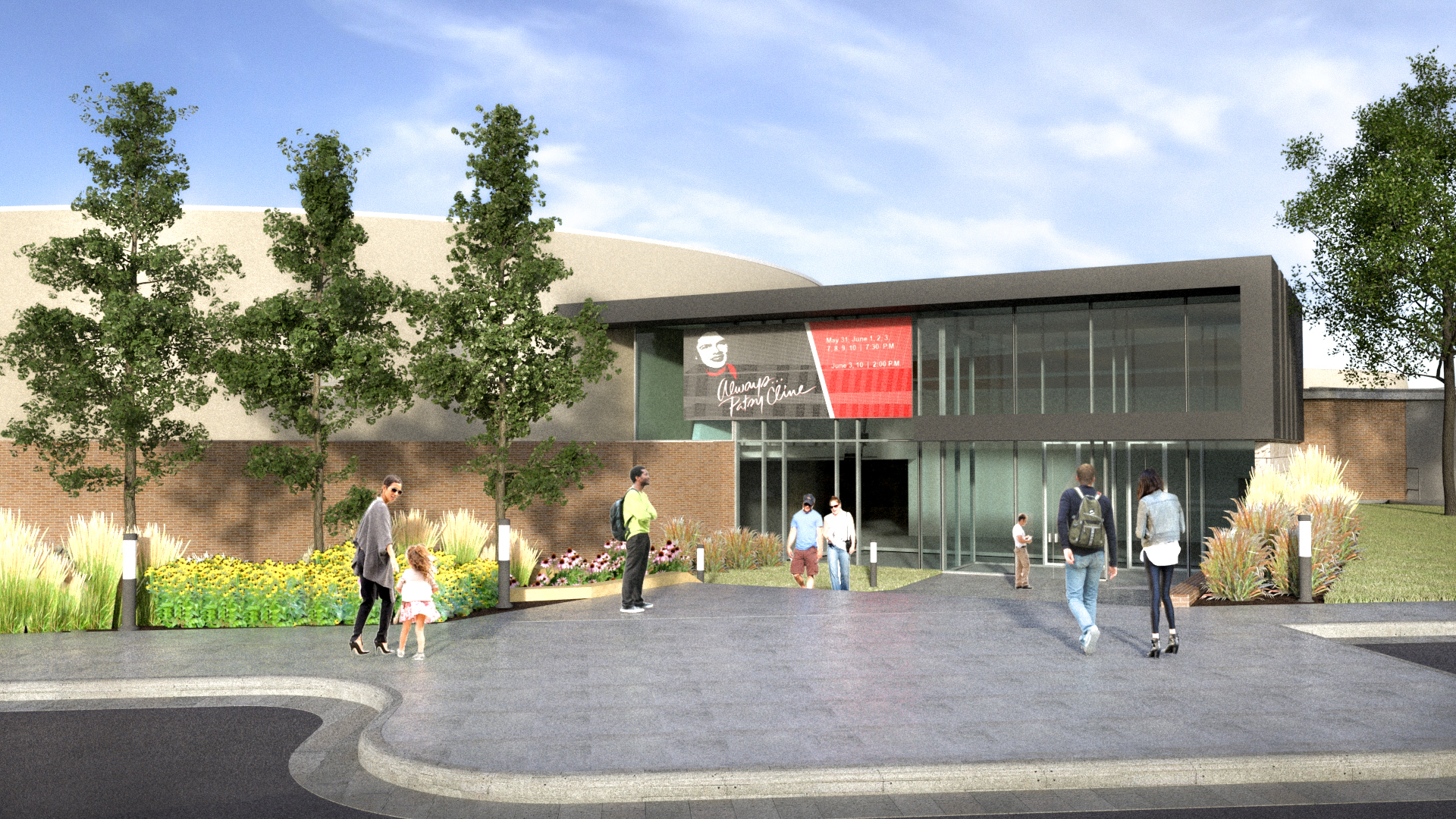 Rendering of Scottsbluff Campus 1