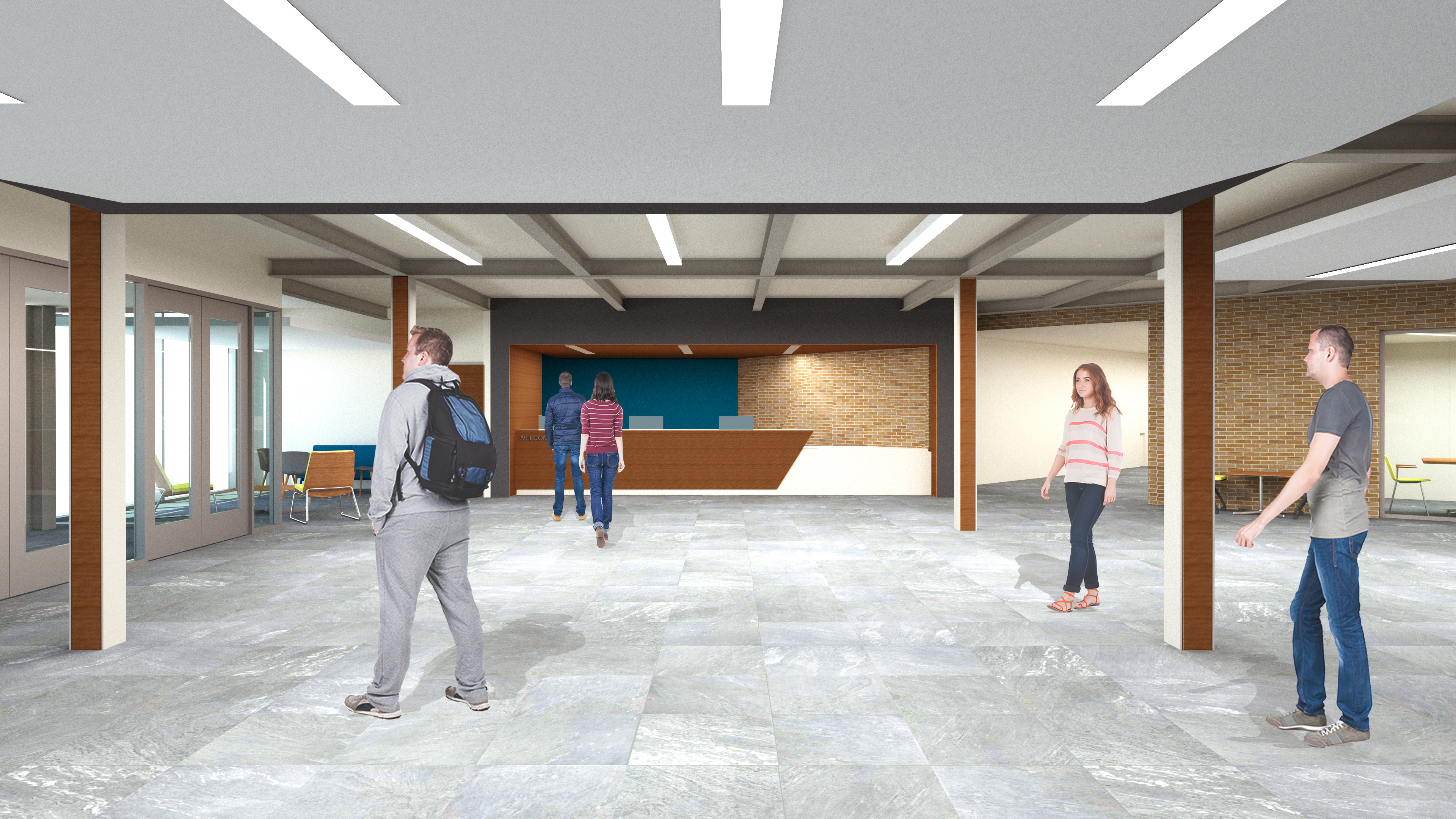 Student Success Center Rendering 1