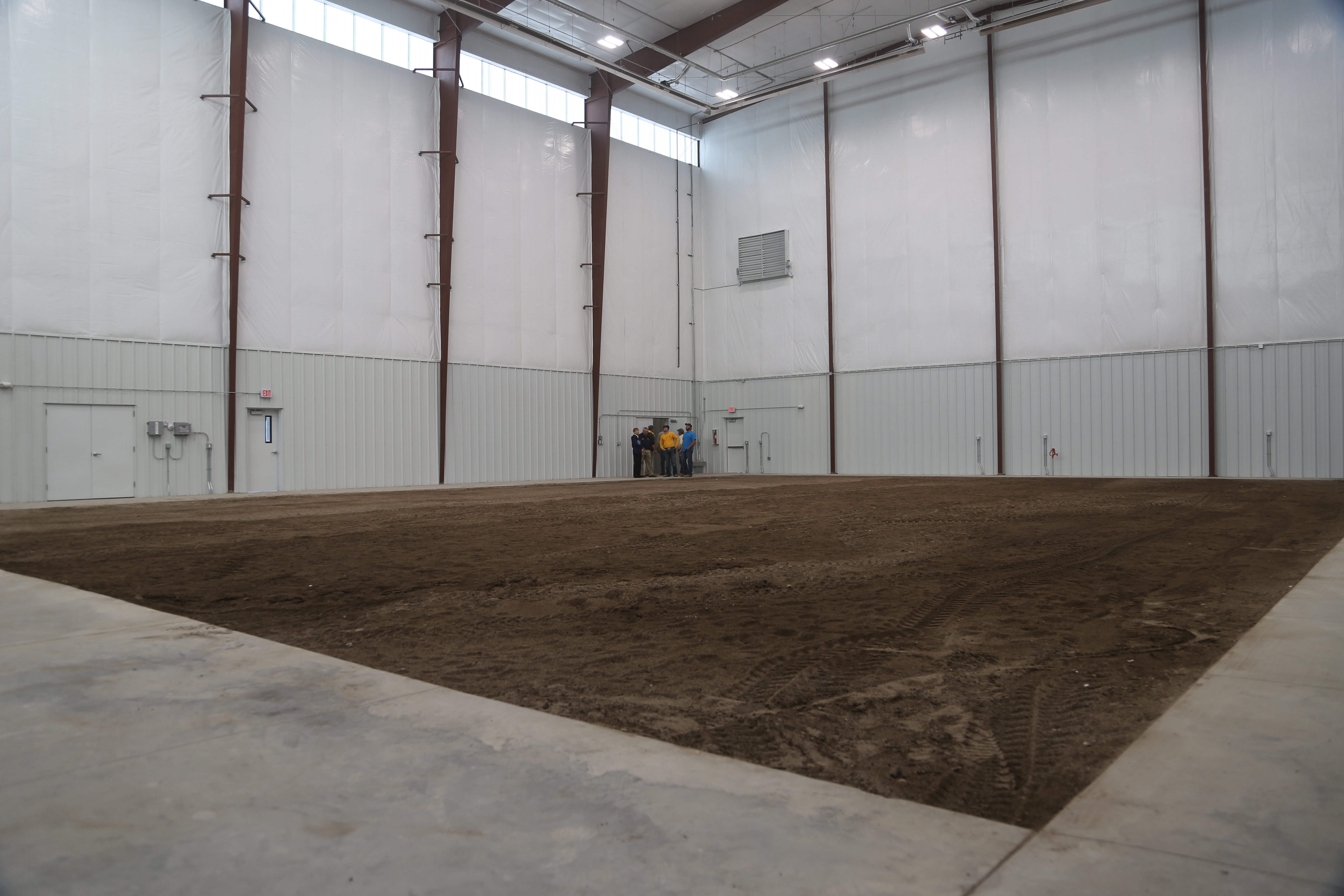 Photo of the Alliance Indoor Powerline Training Facility